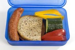 Caja del almuerzo Imagenes de archivo