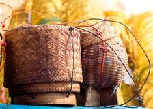 Caja del arroz Foto de archivo