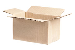 Caja del cartón Fotografía de archivo