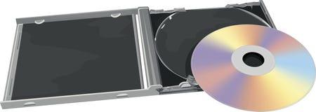 Caja del CD y de joya Fotografía de archivo libre de regalías