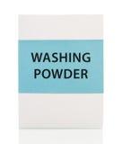 Caja del detergente Imagen de archivo libre de regalías