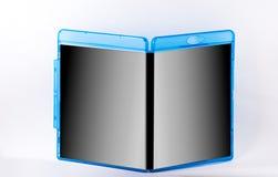 Caja del disco aislada en el fondo blanco Fotografía de archivo libre de regalías