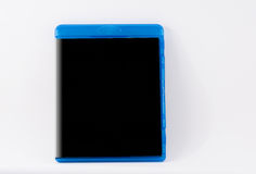 Caja del disco cerrada aislada en el fondo blanco Foto de archivo libre de regalías