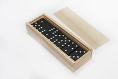 Caja del dominó Imagen de archivo