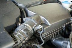 Caja del filtro de aire de motor de coche foto de archivo libre de regalías