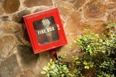 Caja del fuego Imagen de archivo