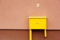 Caja del gas Imagenes de archivo
