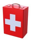 Caja del kit de primeros auxilios Imagenes de archivo