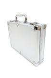 Caja del metal aislada Imágenes de archivo libres de regalías