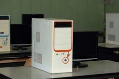 Caja del ordenador imagen de archivo libre de regalías