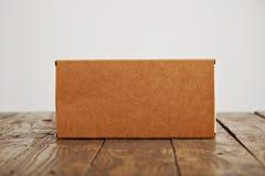 Caja del paquete del arte de la cartulina y sistema del bolso Imágenes de archivo libres de regalías