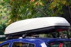 Caja del tejado del coche foto de archivo libre de regalías