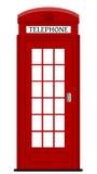 Caja del teléfono de Londres Foto de archivo libre de regalías