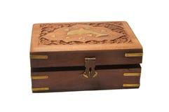 Caja del tesoro cerrada Fotografía de archivo libre de regalías
