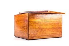 Caja del vintage de mi abuela hecha antes de la guerra Fotografía de archivo