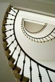 Caja espiral de la escalera Fotos de archivo libres de regalías
