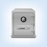 Caja fuerte con la cerradura Imágenes de archivo libres de regalías