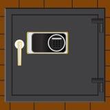 Caja fuerte de la batería Fotos de archivo