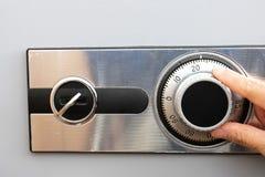 Caja fuerte de la combinación Fotografía de archivo