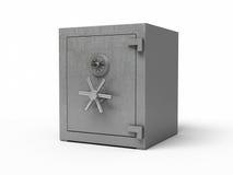 Caja fuerte del metal Imagenes de archivo