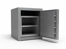 Caja fuerte del metal Foto de archivo libre de regalías