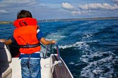 Caja fuerte en el mar fotos de archivo