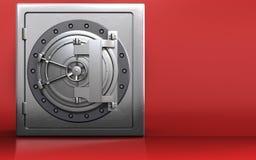 caja fuerte segura 3d Fotos de archivo
