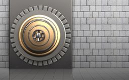 caja fuerte segura 3d Imágenes de archivo libres de regalías