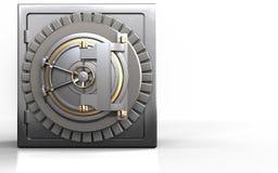 caja fuerte segura 3d Stock de ilustración