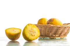 Caja-Mangafrucht Spondias dulcis Lizenzfreie Stockfotos
