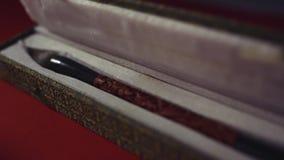 Caja para el primer del cepillo de la caligrafía de s