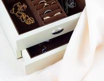 Caja para la joyería Imagen de archivo