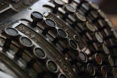 Caja registradora fotografía de archivo libre de regalías