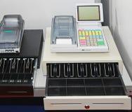 Caja registradora Imágenes de archivo libres de regalías