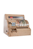 Caja registradora de antaño Imagen de archivo libre de regalías