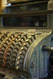 Caja registradora del vintage imagen de archivo