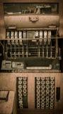 Caja registradora Jerome Arizona Ghost Town Foto de archivo libre de regalías