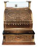 Caja registradora pasada de moda orthográfica Foto de archivo