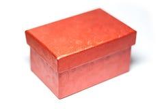 Caja roja Fotos de archivo libres de regalías