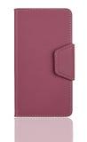 Caja rosada del teléfono Imagenes de archivo