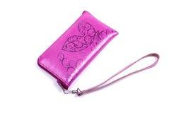Caja rosada del teléfono. imagen de archivo libre de regalías