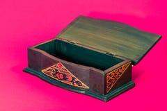 Caja rosada del vintage Foto de archivo libre de regalías