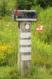 Caja rural vieja Fotografía de archivo