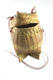 Caja tailandesa del arroz Foto de archivo
