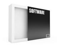 Caja vacía del software ilustración del vector