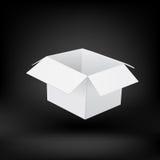 Caja Vector Fotografía de archivo libre de regalías