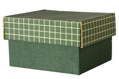 Caja verde Foto de archivo