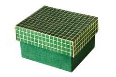 Caja verde Fotografía de archivo