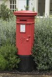 Caja victoriana de los posts de la caja de pilar imagen de archivo libre de regalías