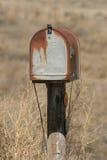 Caja vieja Fotos de archivo libres de regalías